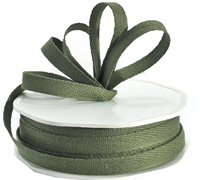 10mm COTTON TAPE-Moss