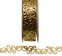 R20mm ADHESIVE FILIGREE-Gold