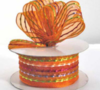 38mm SHEER CARNIVAL-Orange
