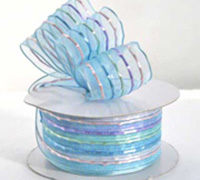38mm SHEER CARNIVAL-Pale Blue