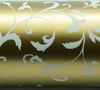 FLORENTINE WRAP-Gold White