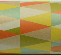 KALEIDOSCOPE WRAP-Citrus Colours On Kraft