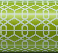 LATTICE WRAP-Chartreuse