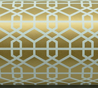 LATTICE WRAP-Gold
