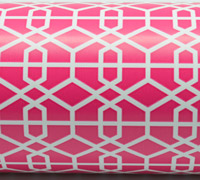 LATTICE WRAP-Hot Pink