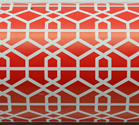LATTICE WRAP-Scarlet