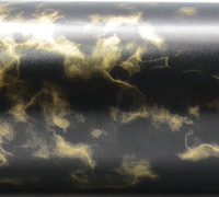 MARBLE STONE WRAP- Gold On Black