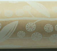 NATIVE BLOSSOM WRAP-Natural White