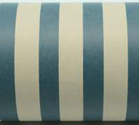 REGULAR STRIPE WRAP-Navy White On Kraft