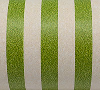 REGULAR STRIPE WRAP-Olive White On Kraft