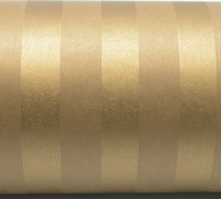 SOLID STRIPE WRAP-Gold On Kraft