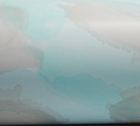 WATERCOLOUR CLOUD WRAP- Tiffany Blue Stone