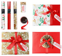 GIFT WRAPPING SET - Classic Christmas