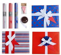 GIFT WRAPPING SET - Something in Blue